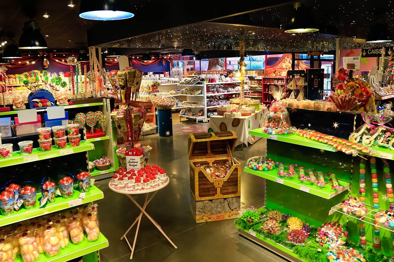 Vente de bonbons, nougats et autres confiseries  Douceurs du Palais