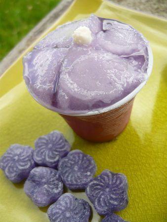 Sorbet à la violette